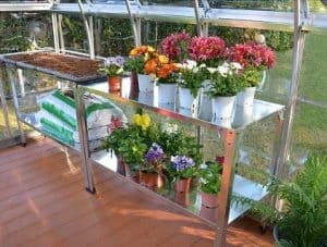 Metal Greenhouse Shelving