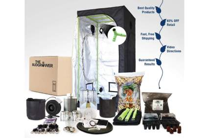 BudGrower Complete Kit - Best Hydroponic Grow Kit