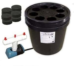 8 Site Aeroponic Plant Cloner bucket edition
