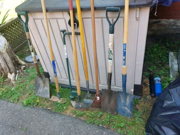 Garden Spades and Hoes