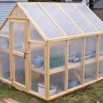 Easy to Make Pole Barn Greenhouse