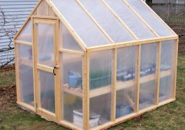 Pole Barn Greenhouse